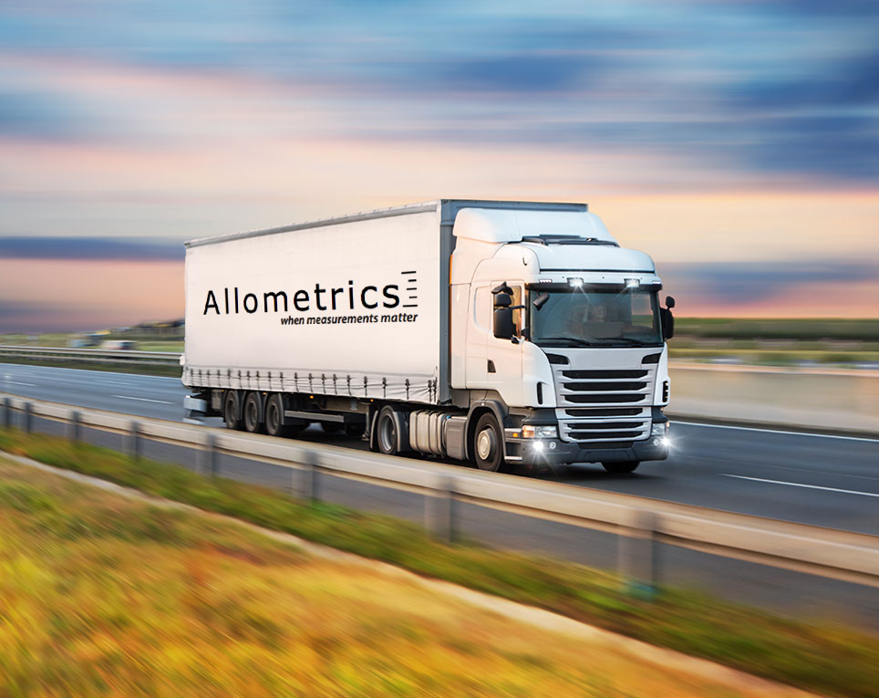 As part of our calibration service, Allometrics is pleased to offer pick-up and delivery services for the safe handling of your test equipment