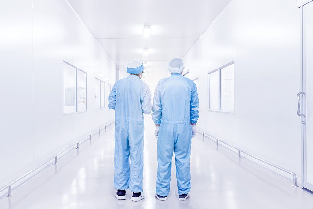 A cleanroom should be tested and certified when its construction is completed