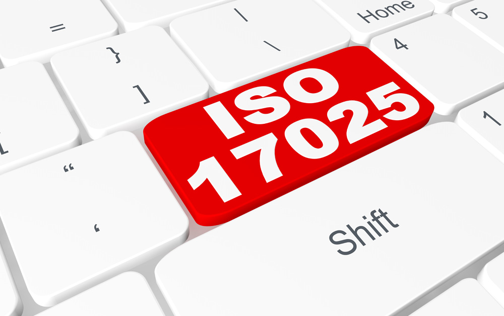 ISO 17025 Certificate