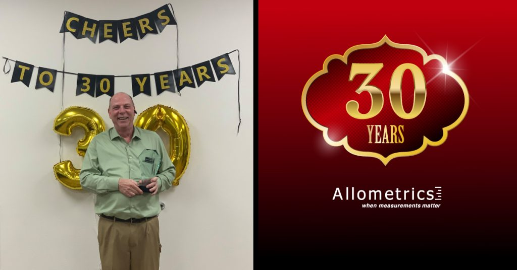 Happy 30 year anniversary to our Senior Technical Sales Engineer, Jim Province!