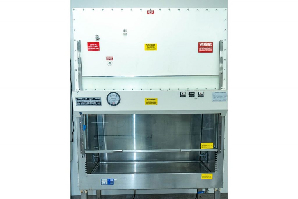 relocating and recommissioning existing biological safety cabinets for COVID-19
